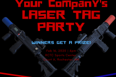 Laser Tag Party Company Holiday Party