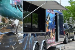 hyperspace arcade on wheels