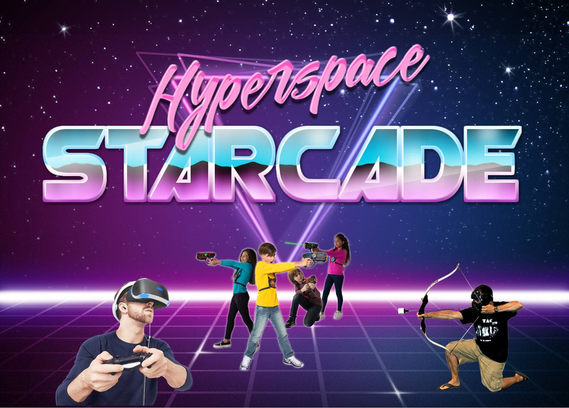 Hyperspace Starcade Rochester Minnesota Birthday Party Idea