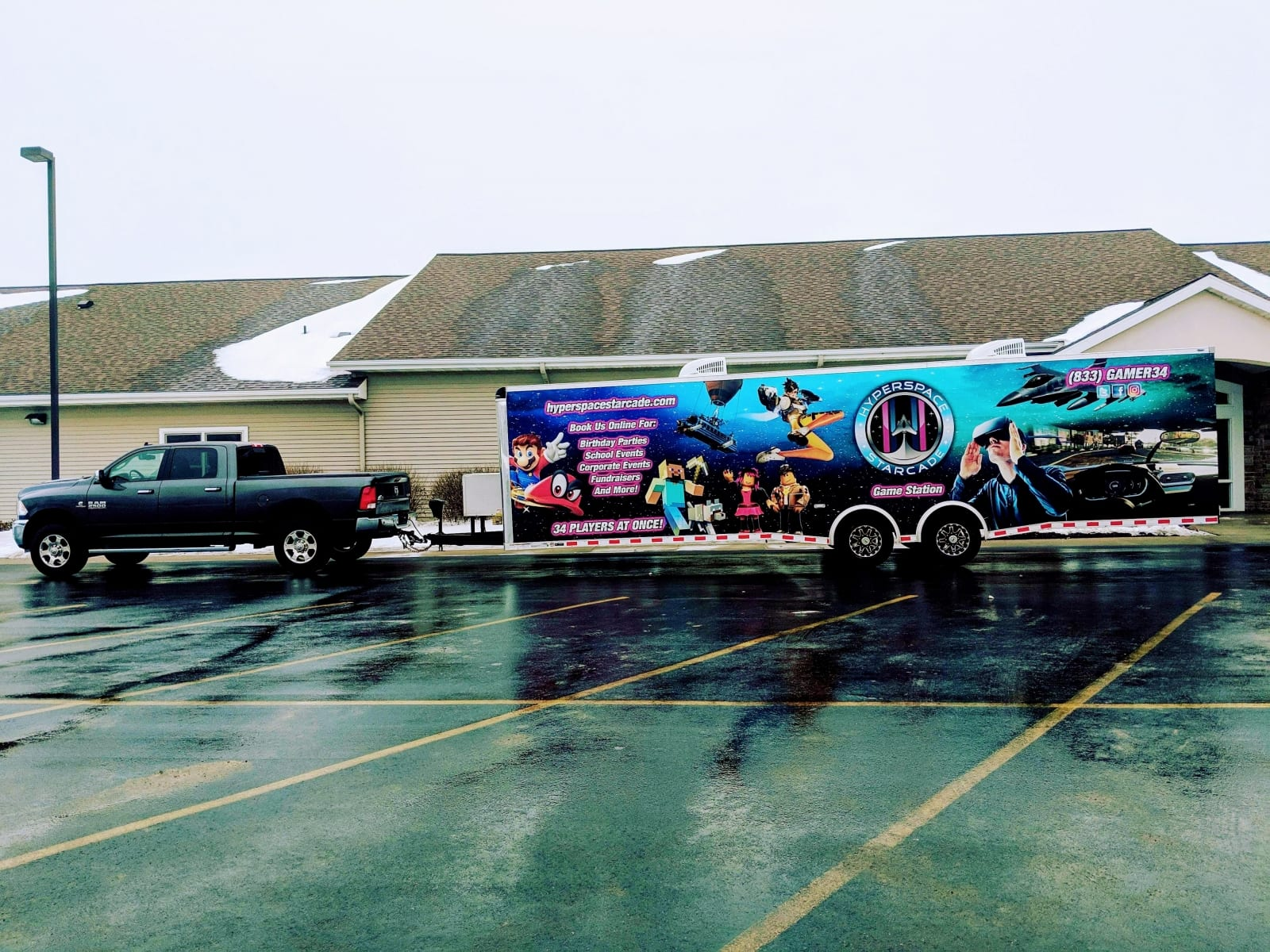 Rochester MN video game truck, game van, game trailer
