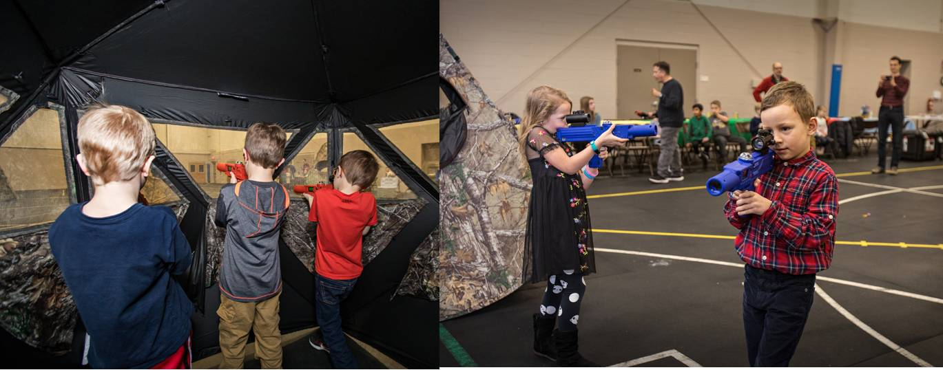 Laser tag school function entertainment in Rochester, MN