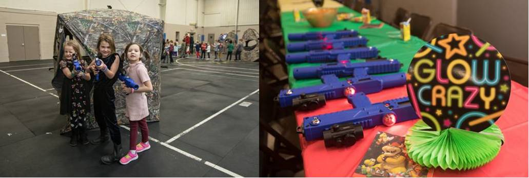 Laser tag birthday party in Rochester, Minnesota - Hyperspace Starcade game truck