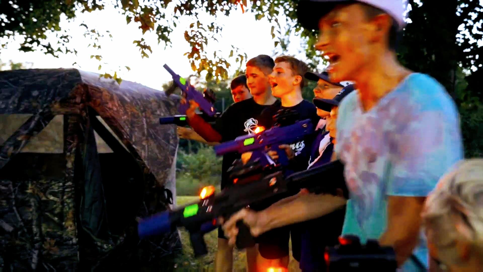 laser tag lazer tag mobile battlefield backyard fun