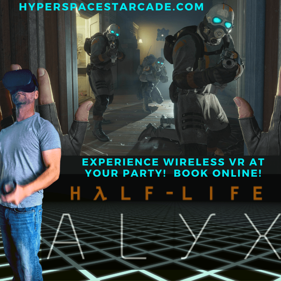 vr half-life alyx experience!